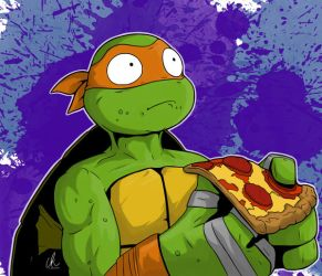 TMNT - No More Pizza by DynamixINK
