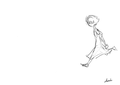 Dancing Girl Animation by Explosion245