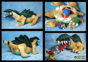 Metroid Queen Surprise: extra images by Eyes5
