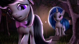 Vinyl and Octavia by Vincher