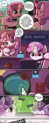 My name is Sweetie Belle by luminaura