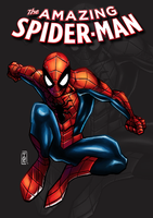 Spider-Man : Comic cover by tontentotza
