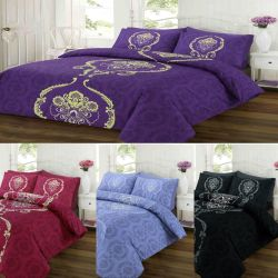 Duvet Cover Set Dominic Printed Reversible Quilt by 3545247