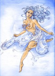 Waterdress by MimaButtons