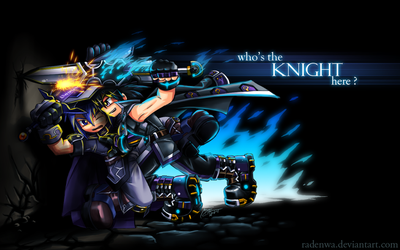 who's the KNIGHT here? by RadenWA