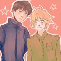 South Park: Craig and Tweek by DecemberComes