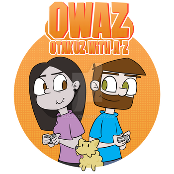 OWAZ Let's Play logo by quazo