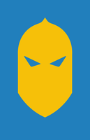 Dr. Fate Helmet Minimalist Design by burthefly