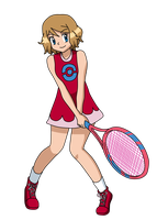 PC - Serena's Tennis outfit by Aquamimi123