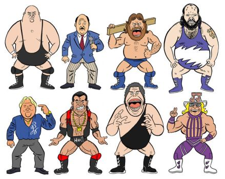 Favorite Wrestlers part 2 by jkipper