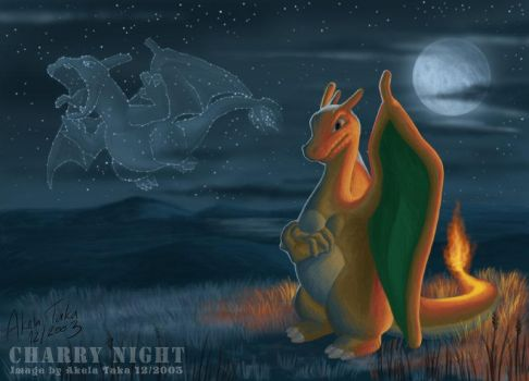 Charry Night by akelataka