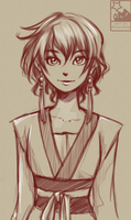 AnY - Yona Sketch by HitokiriChibi