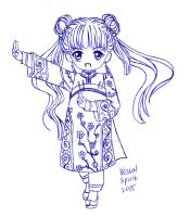 CCS: Mei Ling (Qing outfit) by Vestal-Spirit