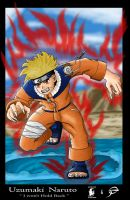 Naruto :I wont hold back: by F0RG0TTEN