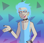 Young Rick Sanchez by small-yeast-dumpling