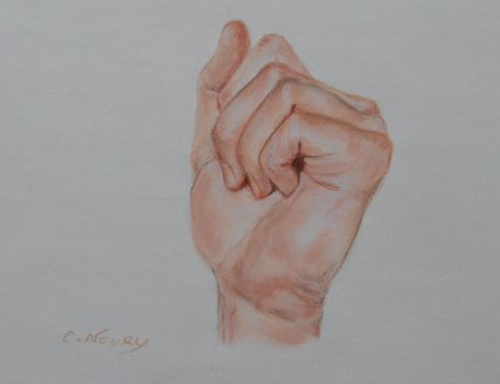 Tom's Hand 26 'Fight' by Andromaque78