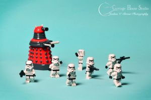 Lego Stormtroopers - Exterminate! by Jbressi