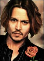 Johnny Depp by ecilARose