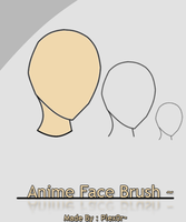 Anime Face Brush by Plex0r
