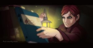 Gaara in tube lighting by PolishaMyshka