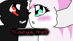Shadow and Pearl by Bindiluckycat