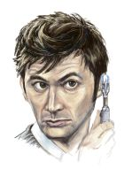 The 10th Doctor by Clockwork-Fox
