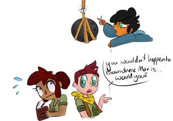 Where's Max? / Camp Camp by AniandherLucario