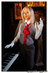 Integra at piano by ButohDanseur