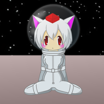 Momiji in spacesuit 2-3 by Nekomi4
