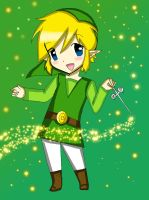 Wind waker Link by acua-chan