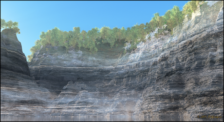 Canyon Wall by jbjdesigns