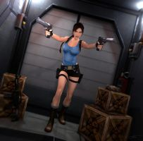 Tomb Raider II (Offshore Rig) by Larreks