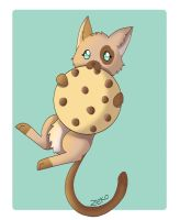 Cookie Kitty by Captain-Zeko