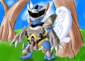 Armored Wartortle by soulturtle