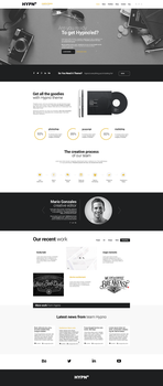 Hypno - Modern, Responsive WordPress Theme by webdesigngeek