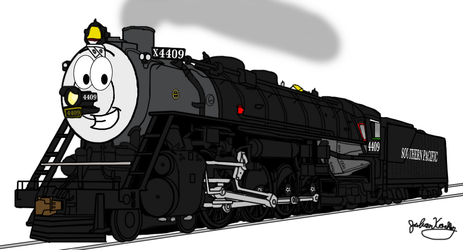 Justin the SP engine by RailToonBronyfan3751