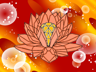 Crystal lotus of Solaris by BlazingTyphlosion