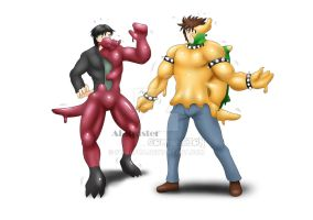 Krookodile and Bowser - TF 2/3