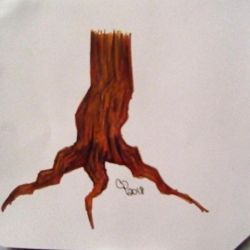 Tree stump by Wolf--Prime