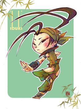 Ibuki - Colored by jingster