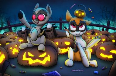 Halloween Switchup by Ikarooz