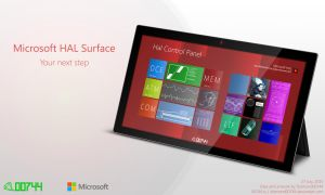 Microsoft HAL 9000 Surface by Diamond00744