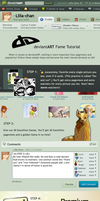 deviantART Fame Tutorial by Lilla-chan
