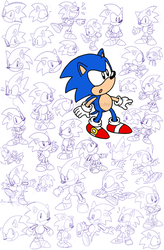 sonic practice by Nintendrawer
