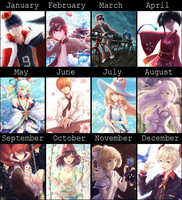 2016 Art Summary by shuryukan