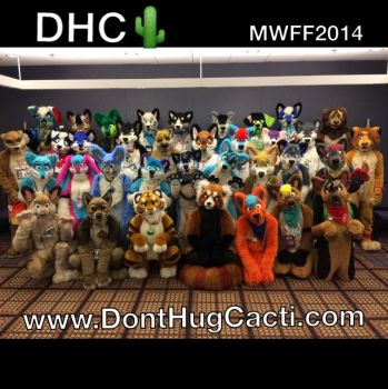 DHC Mwff 2014 group photo by Blonde-Foxy