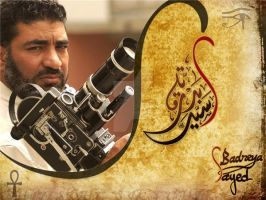 The actor Sayed Badreya by shoair