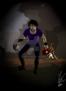 Me in Dead by Daylight by Moskita
