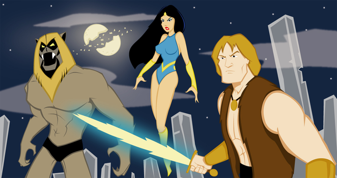 Thundarr the Barbarian by Oddabeish