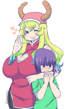 Lucoa And Shouta by the-chinad011-house